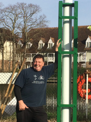 Raising the Flagpole
