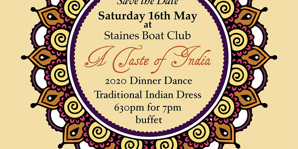 A Taste of India -  SBC Annual Dinner Dance