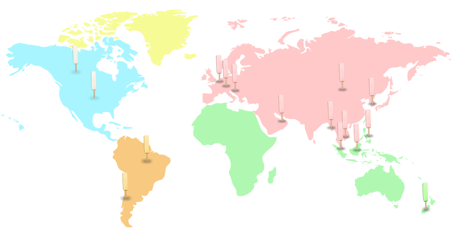 melona locations map