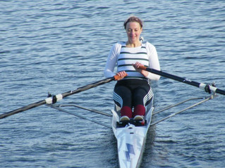 Tentative recommencement of on-water rowing