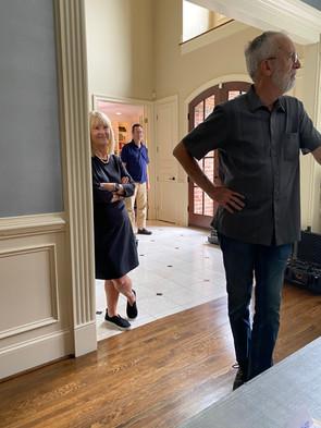 Bobbie Knight Behind the Scenes