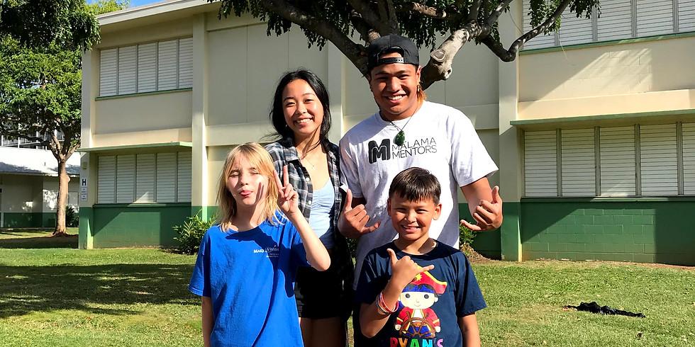 Mālama Mentors Central Oahu Graduation Party