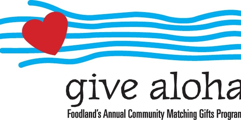 Give Aloha Campaign
