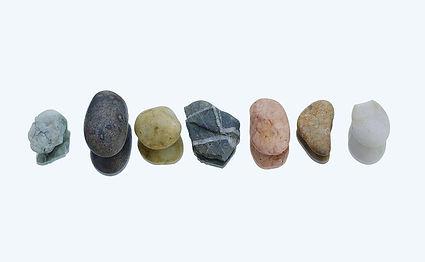 Line of stones