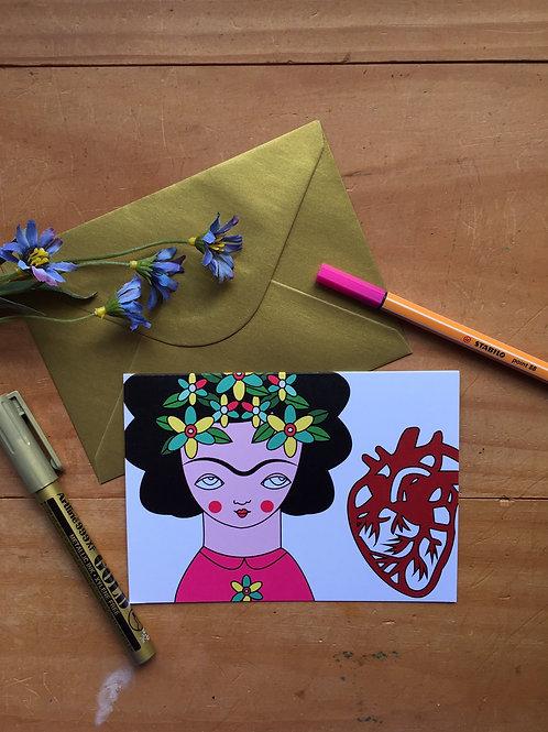 Frida gran corazón.