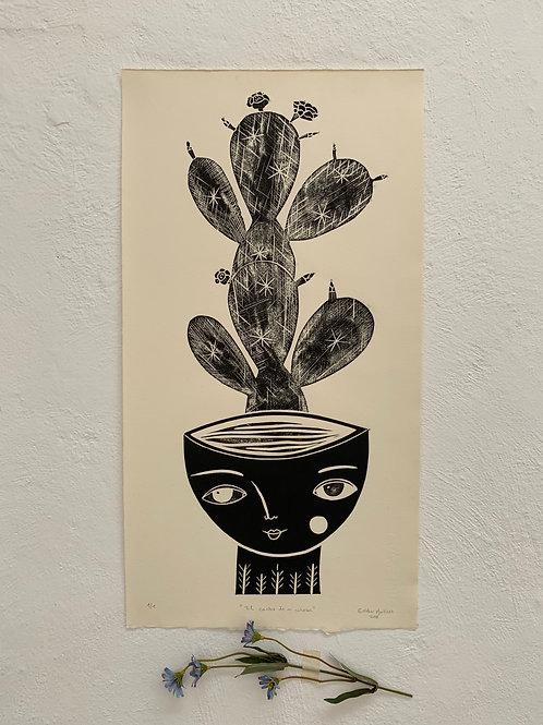 El cactus de mi cabeza.