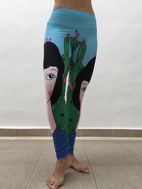 Legging Niña Cactus