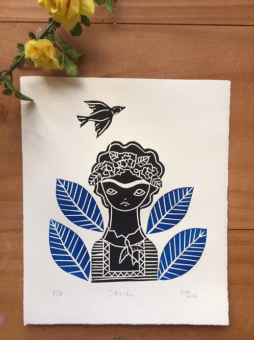 Frida y el pájaro.