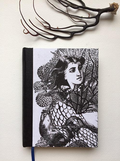 Cuaderno de autor Entre corales.