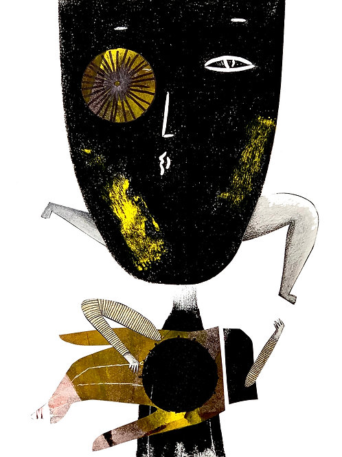 El ojo rueda