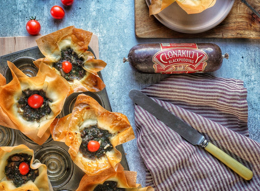 Clonakilty black pudding tarts