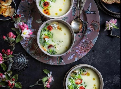 Celariac and Apple soup