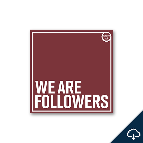 We Are Followers EP - Digital Download