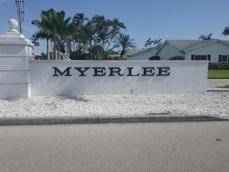 Our most recent project in Ft. Meyers FL, Myerlee Homes Condo Assoc.