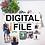 Thumbnail: Digital Photo Bookmark Template, Digital Canva Template, Bookmark Canva, Printab