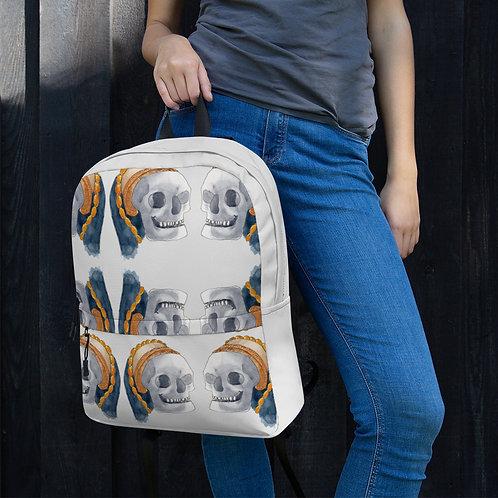 Tudor Skull Backpack