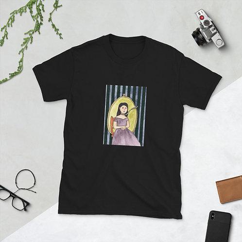 Green Ribbon Girl Short-Sleeve Unisex T-Shirt