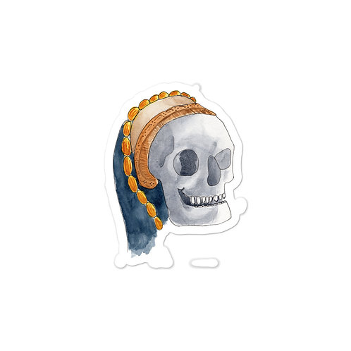 Tudor Skull Bubble-free stickers