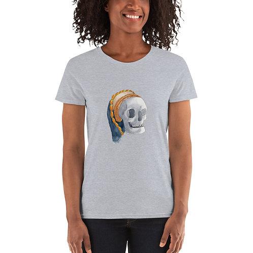 Tudor Skull Women's short sleeve t-shirt