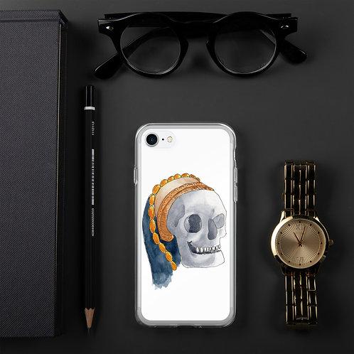 Tudor Skull iPhone Case