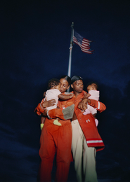 Modern Family Portrait by Tyler Mitchell