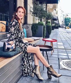 fashion influencers Baldan boots