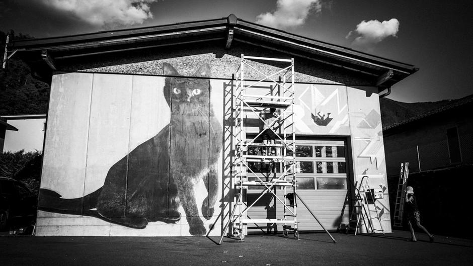 Street Art Festival in Maroggia Switzerland