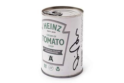 Daniel Arsham Heinz Tomato Signed