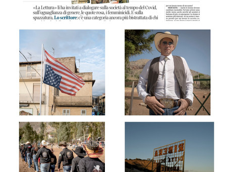 United States of Sicily by Yuri Catania has been featured on Corriere della Sera