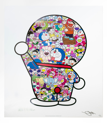 Doraemon daily life Takashi Murakami