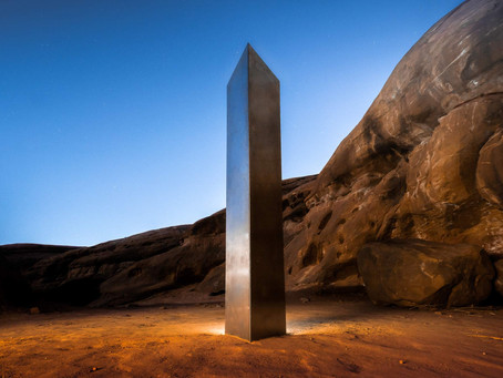 A mysterious sculpture was discovered in the wild Utah, did John McCracken make it or not?