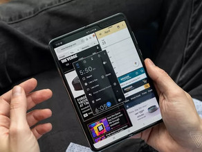 三星展示二代Galaxy Fold折疊手機新折疊方式