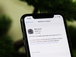 蘋果發布iOS 13.3.1 / iPadOS 13.3.1 正式版更新