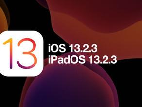 蘋果發布iOS/iPadOS 13.2.3更新:修復App無法後台下載內容問題