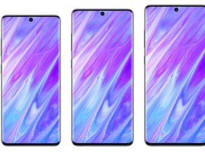 網傳 SAMSUNG Galaxy S11系列三種尺寸規格