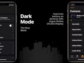 iOS 13 黑暗模式下iPhone 省電30%