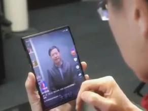 小米折疊螢幕手機專利曝光:雙折疊設計+四顆攝像頭