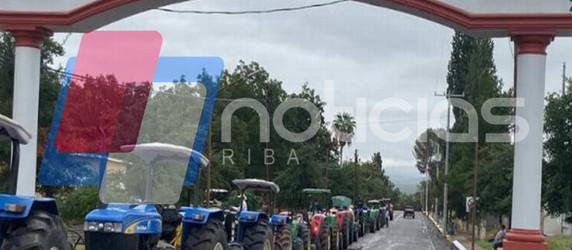 Detención de Valles es para seguir amedrentando: agricultores de La Cruz.