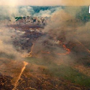 Humo por incendios de Brasil se extiende afecta a cinco países vecinos