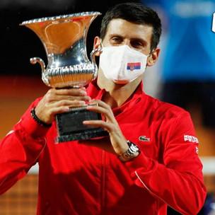 Djokovic conquista el Masters de Roma por quinta ocasión