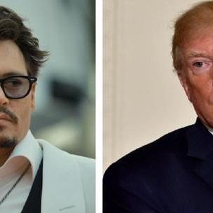 """""""Me hace reír, es una comedia de terror"""": Johnny Depp sobre Trump"""