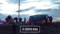 Accidente en la carretera Jiménez-López.