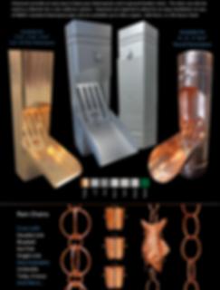 Copper Downspout Cleanout, Galvalume Downspout Cleanout, Kynar Steel Cleanout, Aluminum Cleanout