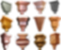 Conductor Head, Leader Head, Gutter Box, Collector Heads, Collector Box, Copper, Zinc, Aluminum, Gavanized, & Kynar Steel