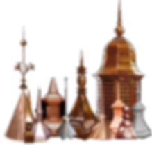 Copper Finials Cupula Spires