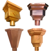 Conductor Heads Or Leader Heads K Amp M Sheet Metal Copper