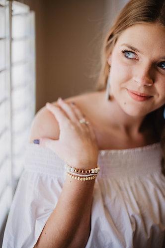 Marble Cream Bracelets