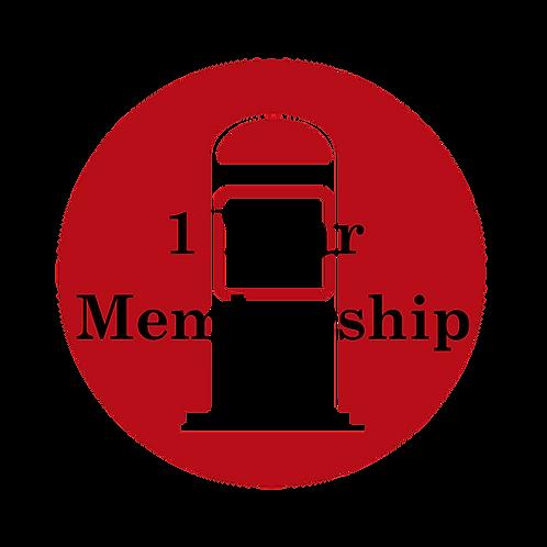 1 Year Membership - Weekly Fill-up