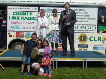 Prize Winners - Mablethorpe Classic Car Show