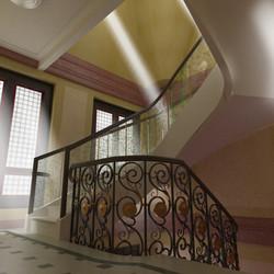 Etude escalier